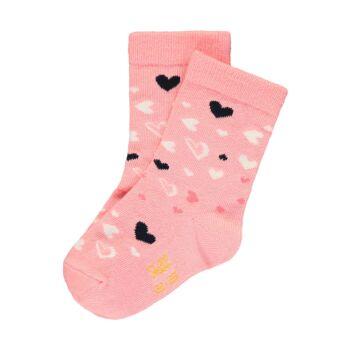 Steiff kislány zokni macival és szívecskékkel - Mini kollekció