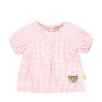 Steiff kockás tunika blúz kislányoknak - Bear & Cherry kollekció