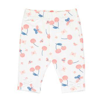 Steiff cseresznye mintás baba leggings - Bear & Cherry kollekció