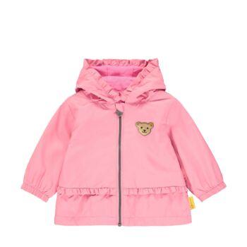 Steiff átmeneti kabát kislányoknak - Bear & Cherry kollekció - rózsaszín - Bunny and Teddy