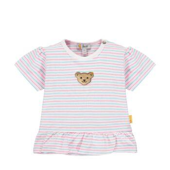 Steiff csíkos baba póló kislányoknak - Bear & Cherry kollekció