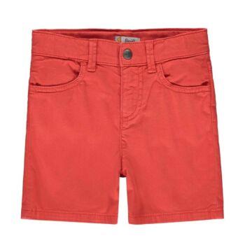 Steiff egyszínű rövidnadrág pamutból Safari Bear - mini boys kollekció - narancssárga - Bunny and Teddy