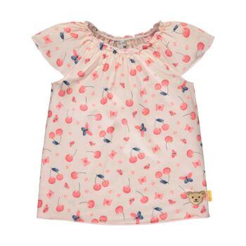 Steiff pamut blúz cseresznye mintával - Sweet Cherry kollekció