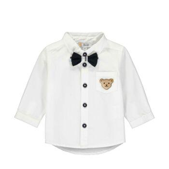 Steiff klasszikus fehér ing csokornyakkendővel Special Day- baby boys kollekció