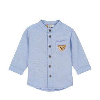 Steiff hosszú ujjú ing állógallérral Special Day- baby boys kollekció - világoskék - Bunny and Teddy