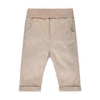 Steiff elegáns pamut nadrág kisfiúknak puha gumipánttal a derekán Special Day- baby boys kollekció