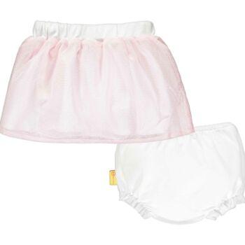 Steiff szoknya és alsónadrág babáknak - Special Day - baby girls kollekió - világos rózsaszín - Bunny and Teddy