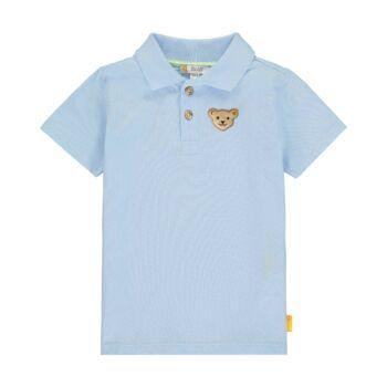 Steiff rövid ujjú galléros póló kisfiúknak Special day - mini boys kollekció
