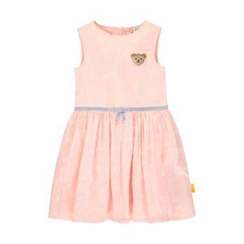 Steiff fodros nyakú hosszú ujjú body, blúz - Special Day - baby girls kollekió - világos rózsaszín - Bunny and Teddy