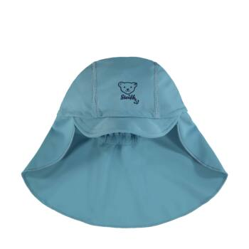 Steiff uv szűrős baseball sapka strandra 50-es fényvédő faktorral fürdőruha kollekció - kék - Bunny and Teddy