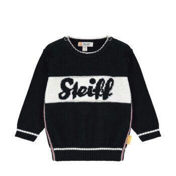 Steiff kötött pulóver kifiúknak- Baby Boys - Bear to School kollekció