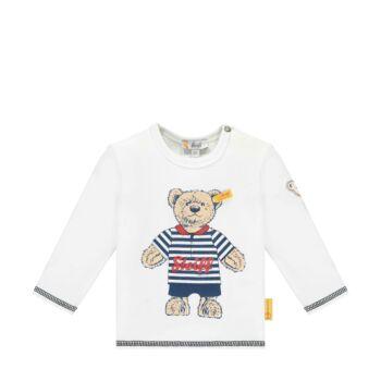 Steiff hosszú ujjú póló kisfiúknak- Baby Boys - Bear to School kollekció