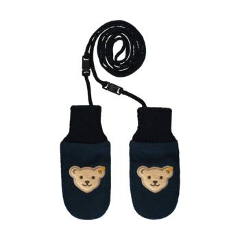 Steiff kötött babakesztyű- Baby Boys - Bear to School kollekció