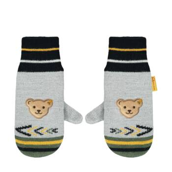 Steiff kötött kesztyű- Mini Boys - Indi Bear kollekció