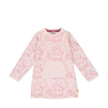 Steiff levél mintás pamut ruha kenguru zsebbel- Mini Girls - Fairytale kollekció