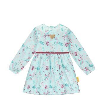 Steiff levél mintás elegáns ruha- Mini Girls - Fairytale kollekció