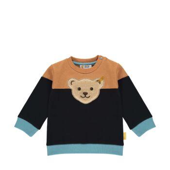 Steiff színes pamut pulóver- Baby Boys - Forest Friends kollekció
