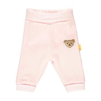 Steiff puha plüss babanadrág- Baby Girls - Fairytale kollekcó világos rózsaszín    Bunny and Teddy