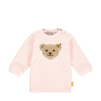 Steiff puha plüss kislány pulóver- Baby Girls - Fairytale kollekcó világos rózsaszín  | Bunny and Teddy
