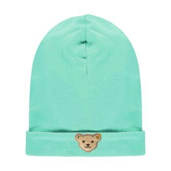 Steiff pamut sapka- Mini Boys - High 5! kollekcó zöld  | Bunny and Teddy