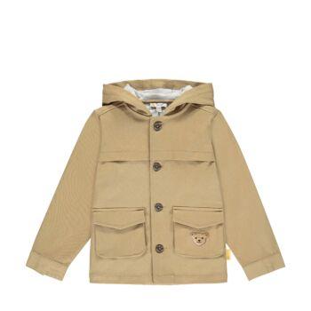 Steiff vékonyan bélelt pamut kabát kapucnival- Mini Boys - High 5! kollekcó
