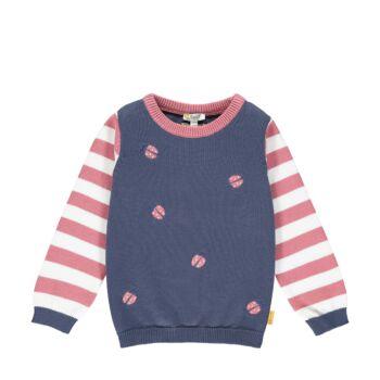 Steiff kötött pamut pulóver katicabogarakkal- Mini Girls - Bugs Life kollekcó