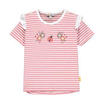 Steiff csíkos pamut póló katicával- Mini Girls - Bugs Life kollekcó