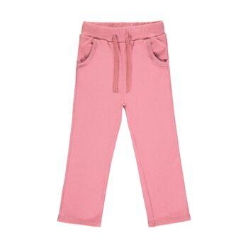 Steiff pamut melegítő nadrág- Mini Girls - Bugs Life kollekcó rózsaszín    Bunny and Teddy