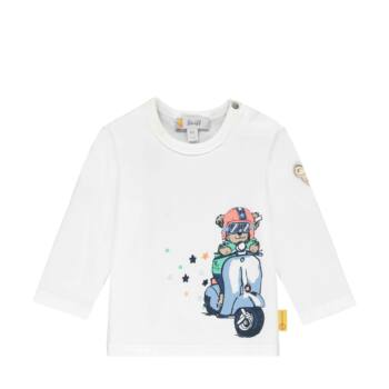 Steiff hosszú ujjú póló vespás macival- Baby Boys - High 5! kollekcó