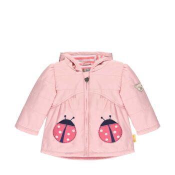 Steiff bélelt kabát kapucnival és BIONIC-FINISH®ECO impregnálással- Baby Girls - Bugs Life kollekcó