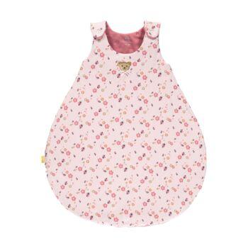 Steiff Bélelt hálózsák katica mintával- Baby Girls - Bugs Life kollekcó világos rózsaszín  | Bunny and Teddy