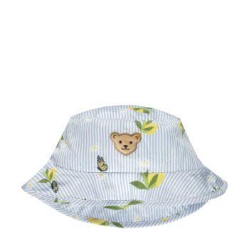 Steiff nyári sapka, kalap citromos mintával- Mini Girls - Hello Summer kollekció