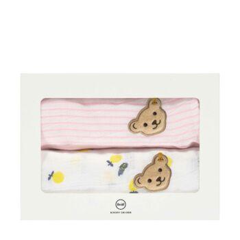 Steiff textilpelenka 2db-os csomagban- Baby Girls - Hello Summer kollekció